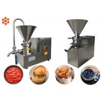 JM-130 Industrial Peanut Butter Making Machine Automatic Colloid Mill Manufactures