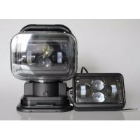 7 Inch Square Led Marine Searchlight , 30 Degee Spot 12v Truck Led Headlights Manufactures