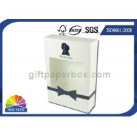 Straight Tuck End Paper Box Lotion Body Wash Packaging Box with Clear Window Manufactures
