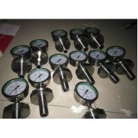 Stainless steel corrosion proof diaphragm pressure gauge flang type YTP -100F Manufactures