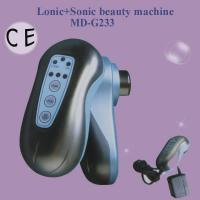 China 1mhz Ionic Photon Ultrasonic Waves Skin Care Machine For Face Care Regimen For Women on sale