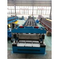 China GI / PPGI Kliplock roll forming machine Wall Board Structure For Roofing Sheet for sale