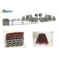 Treats Processing Dog Food Extrusion Machine Chewing Gum Production Line Manufactures