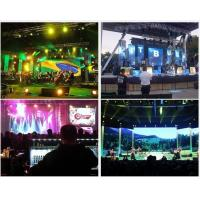 Perfect visual effective smd outdoor video wall rental , p6 led screen panel Manufactures
