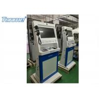 China Hospital Self Service Medical Health Care Kiosk Touch Panel Digital Signage For Bill Payment on sale