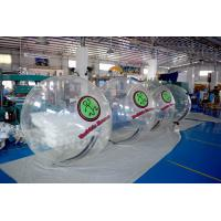 2m Diameter Transparent Inflatable Walk On Water Ball For Pool / Water Park Manufactures
