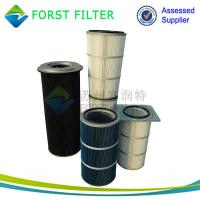 China FORST High Efficiency Dust Filtration Cylindrical Air Cartridge Filter Element wholesale