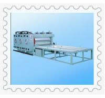 JCBRF-1800 Ф800mm Big rollers semi auto flexo chain feeding printing machine Manufactures