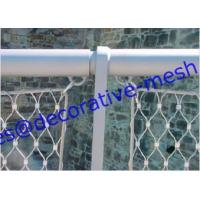 Rope Mesh fence installation