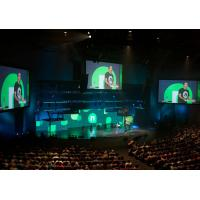 IP43 Ultra Hd Indoor Stage Led Display For Church / Rgb Led Panel Screen Manufactures