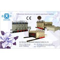 Electric Roller Corrugated Box Making Machine Printer , Pallet Packaging Type Manufactures