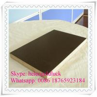 6-8 Reuse Times Anti-slip 15mm Brown Film Faced Plywood for Construction Manufactures
