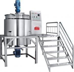 China Complete liquid soap production line making mixer optional homogenizer Liquid Detergent Production Plant on sale
