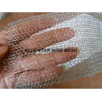Multi Filament Stainless Steel Knitted Mesh Demiter Pad For Filter Bright Silver Color