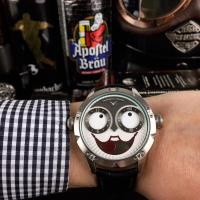 Konstantin Chaykin AHCI Clown So funny Leather Strap Watch - 1W0021