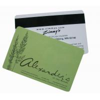 China magnetic business card on sale