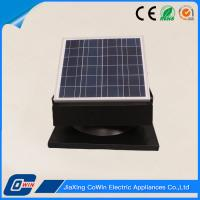 Eco Friendly Solar Roof Ventilator 30W 12V Waterproof For Greenhouse Manufactures