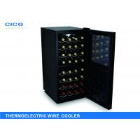 Electric Dual Zone Thermoelectric Wine Cooler Touch Panel Control Manufactures