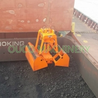 2 Rope Loading Wireless 12 Cubic Crane Grab Bucket Manufactures