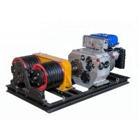 Double Drum JJM5SQ Cable Winch Puller Winch Pulling Rope With 5T Load Capacity Manufactures