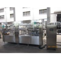 Auto Carbonated Drink Filling Machine PLC Control 20000bph For CSD Manufactures