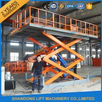4.7M 3T Hydraulic Lift Table Manufactures