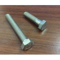 Din931 / 933  / 593c Stainless Steel Hex Head Bolts For Furniture Construction Manufactures