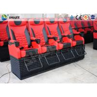Profession 4D Movie Theater With Feet Tickle / Vibration / Push Back Manufactures
