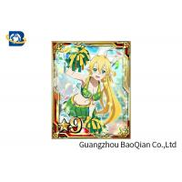 China Cartoon 3D Lenticular Card , Waterproof 3D Game Card 4C UV Printing 7X9CM Size on sale