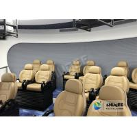 Luxury Chair 5D Movie Theater Simulator For Playground Center 2 Years Warranty Manufactures