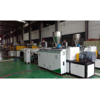 High Efficiency Plastic Tubing Extrusion Machines ABB Frequency Controller Manufactures