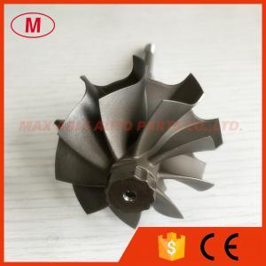 China TD05H 9 blades 49.12/55mm journal bearing turbo turbine shaft reverse rotation on sale
