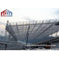 China Heavy Duty Aluminum Roof Truss SystemNon Toxic Durable PVC Roof Cover Fabric on sale