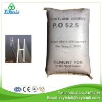 construction material portland cement 52.5 Manufactures