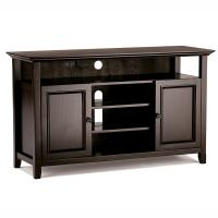 Bedroom Wooden Television Stands American Country Style With Multi Shelves Manufactures