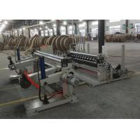 Abrasion Resistant Paper Cutting Machine , 1600C Paper Roll Slitter Rewinding Machine Manufactures