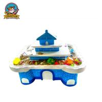 Play House Type Kids Playground Equipment Arts And Crafts Table For Toddlers Manufactures