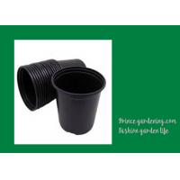 Round Garden Nursery Pots Garden plant accessories Black or as request Color Plant Growing Material Plasitc Warranty per Manufactures