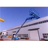 31.2KW 42.4HP Table Size Telescopic Boom Lift 48V DC Power Supply 6040kg Manufactures