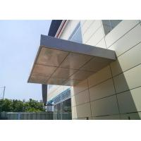 Aluminum Cladding Panels , Aluminum Building Panels 1220*2440 Mm Thickness Manufactures