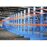 Customized  Galvanized Cantilever Pallet Racking  by  Strong Arm Firm Base Plate1 Manufactures