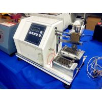 Quality ISO20344 6.14 and EN388.6.2 Rubber Glove Cutting Resistance Strength Tester for sale