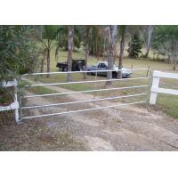 Quality 1.2m Height Steel Farm Gates For Livestock / Animal Ranch CE Standard for sale
