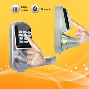 PIN Code Password Door Locks Fingerprint Identification Easy Setting Manufactures