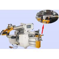 Double Servo Motor Driven Reactor Auto Coil Winding Machine With Maximum Width 800mm Foil Manufactures