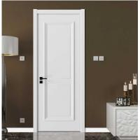 Elegant Modern Wood Panel Door For Hotel With Locks White Color VF-611 Manufactures
