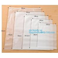 poly zip bags leakproof plastic slider zipper bags for packaging, slider ziplock printed pvc zipper bags, quad sealed sl Manufactures