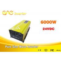 China High efficiency off grid inverter single output UPS 24v/48v to 220v/230v/240v dc to ac inverter 6000w on sale