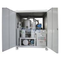 Quality Fully Enclosed Type Vacuum Processing Dielectric Oil Purification Machine Dewater and Degas from Oil for sale