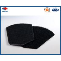China Eco - friendly Square Shape Hook And Loop Coins , Hook Loop Patch For Uniform & Bags on sale